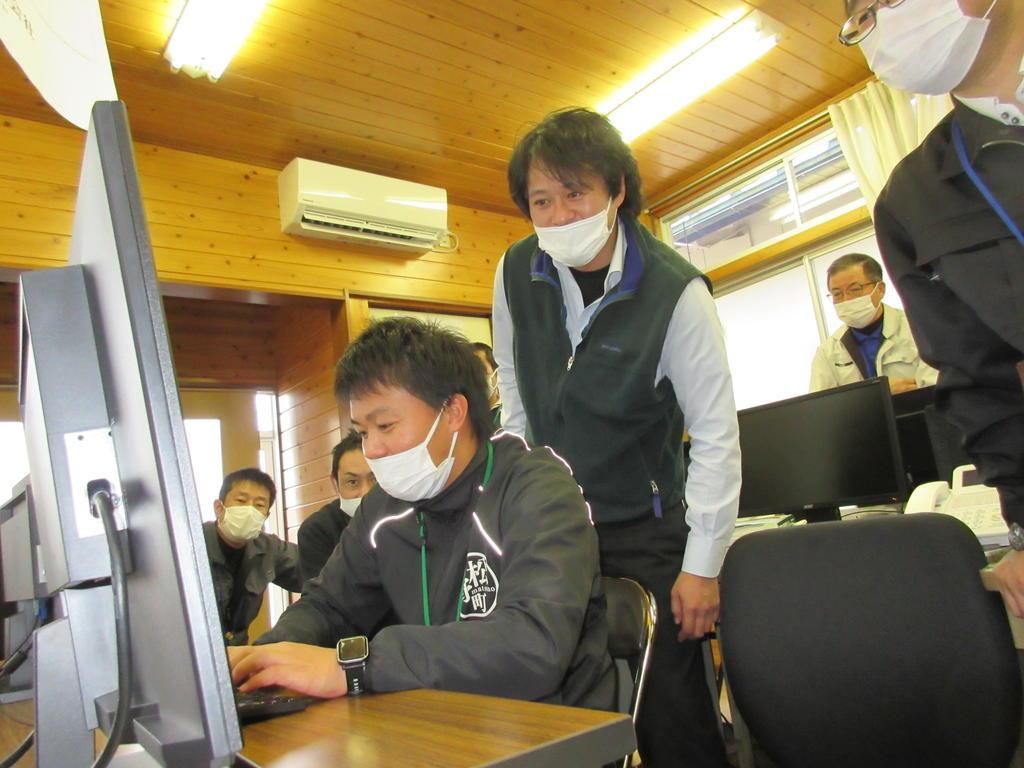 森林GISの操作研修